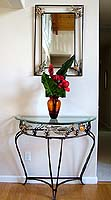 Dolphin Entry Table & Mirror Set
