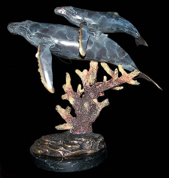 Quot Mother S Love Quot Humpback Whales Sculpture Dolphins Unlimited