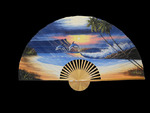 Large Decorative Jumping Dolphin Wall Fans