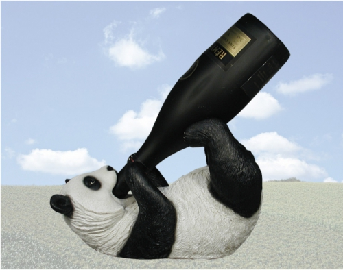 """Panda Tippler"" Wine Bottle Holder"