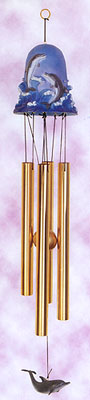 Bell Top Dolphin Wind Chime