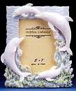 Unique Ivory Dolphin Photo Frame